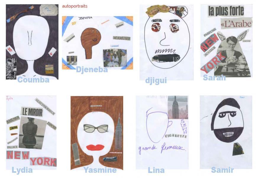 Atelier d'écritures Autoportraits