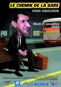 ESPOIR 18- Spectacle Débat «le chemin de la Gare» ou Prévenir la radicalisation par le rire - mardi 21 novembre 2017 - 20h