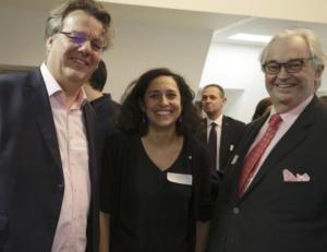 Patrick Bertrand (Passerelles&Compétences), Félicie Goyet et Bruno Cheuvreux