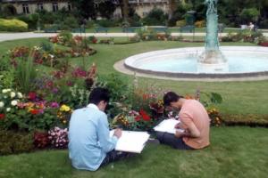 Atelier artistique avec Paul de Pignol, sculpteur