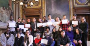 Remise de diplomes à la Sorbonne - Thot