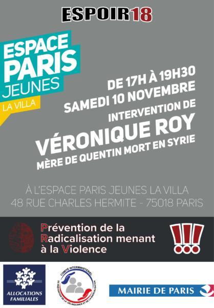 ESPOIR 18 Veronique Roy